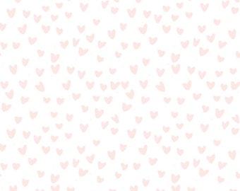Hearts Baby Blanket Minky Baby Blanket Security Blanket Pink Baby Shower Gift Baby Girl Pink Nursery Blanket