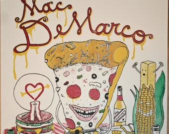 Mac DeMarco poster - 11/7/15 at the Metro in Chicago