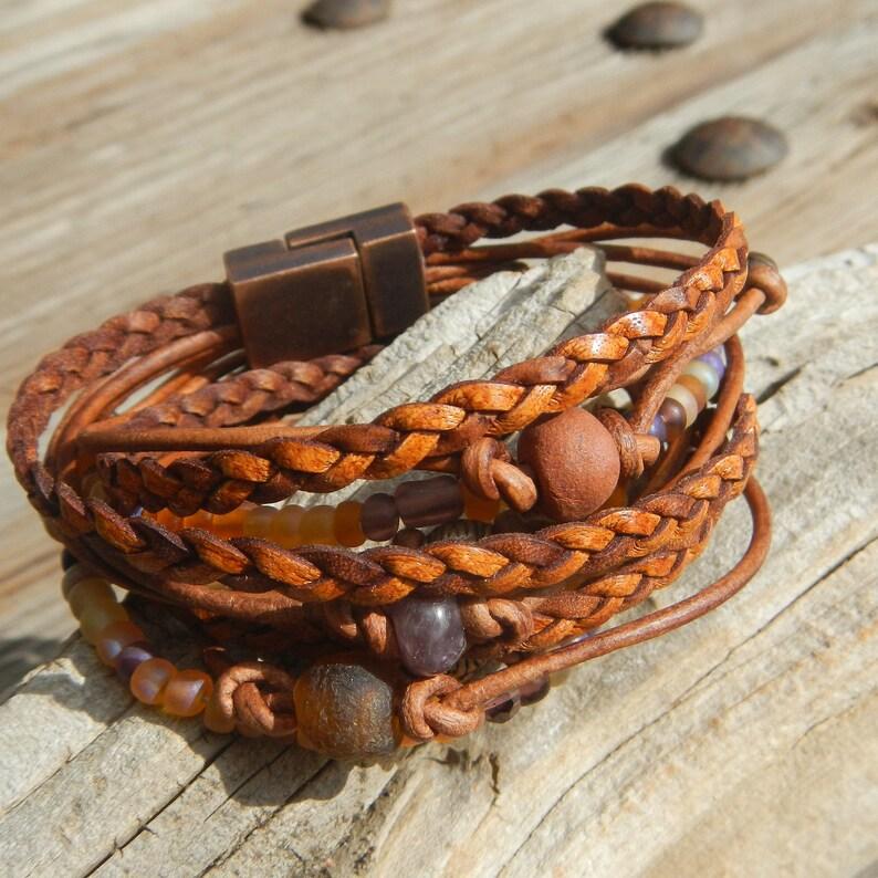 Desert Solitude Wrap Bracelet for Women Boho Wrap Bracelet image 0