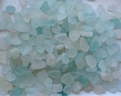 Genuine Sea Glass Over 300 Pc Frosted Glass Shards for Jewellery Making Beach Crafts Authentic Sea Glass White Aqua Surf Tumbled Glass