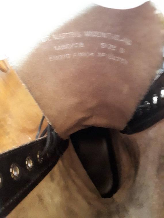 Exotic Dr Martens Black Boot Dr Martens Infants Leder Lace