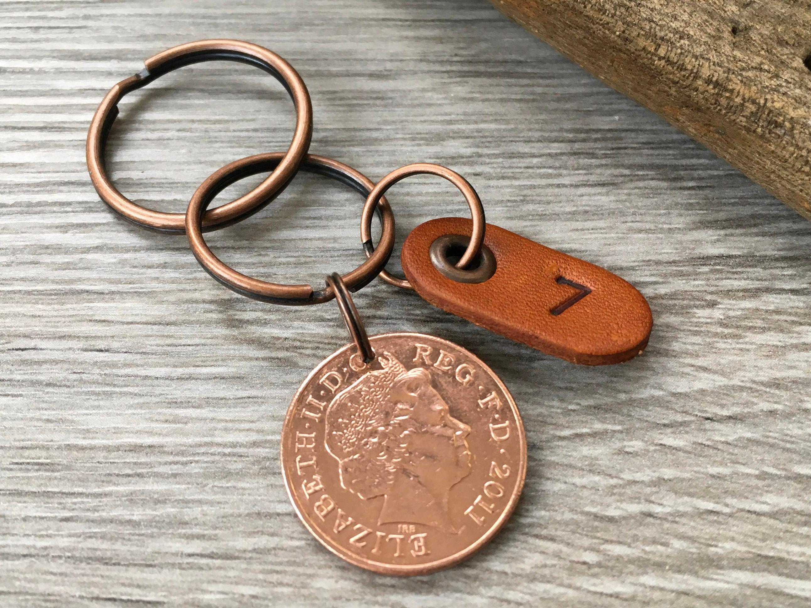 7th Anniversary Gift Copper Wedding Anniversary Seven 7 Years