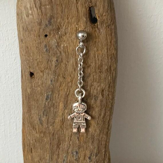 Long boy earring, jpop dangle earrings, one earring or a pair of earrings for men or women, kpop jewellery stainless steel