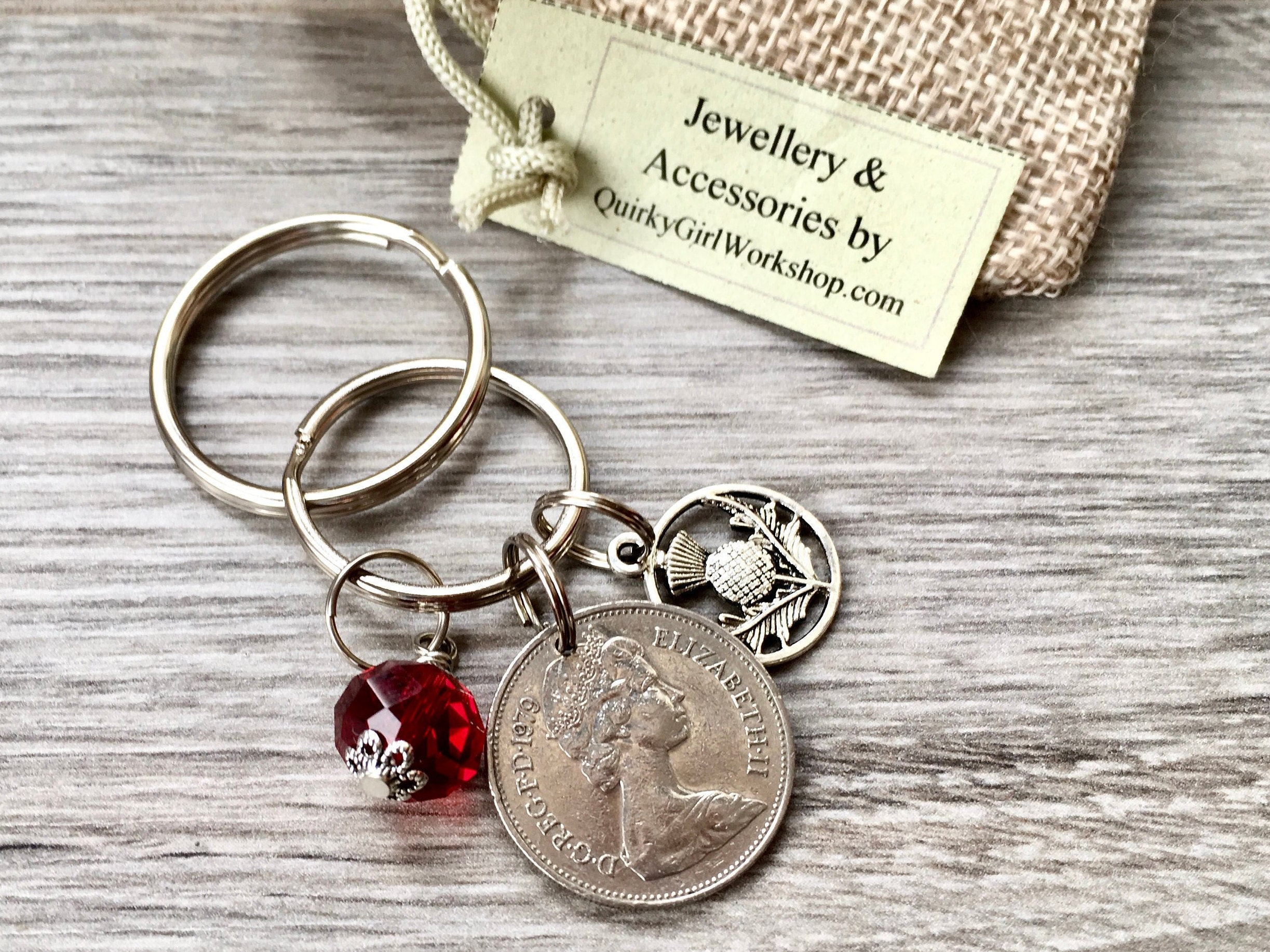 Gifts For A Ruby Wedding Anniversary: 40th Anniversary Gift, Ruby Anniversary, 1979 British Coin