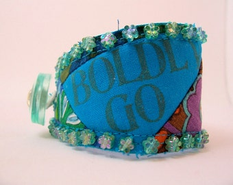 Comfort Cuff - Boldly Go - Turquoise