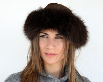 618e2b2d7a0 Fur hat women