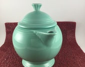 Fiesta green Tea pot Coffee pot 1940 39 s Pristine Condition