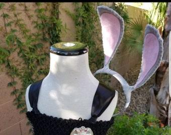 Bunny ears Headband/Bunny Ears Accessory/Bunny Costume Ears/ Rabbit Ears