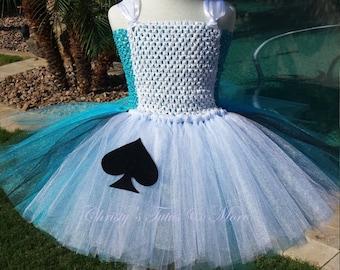 Alice in Wonderland tutu dress/Alice in Wonderland Costume/Alice tutu/Alice costume