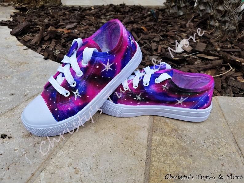 7d0af719495d Galaxy Shoes Galaxy colored shoes Celestial shoes Space