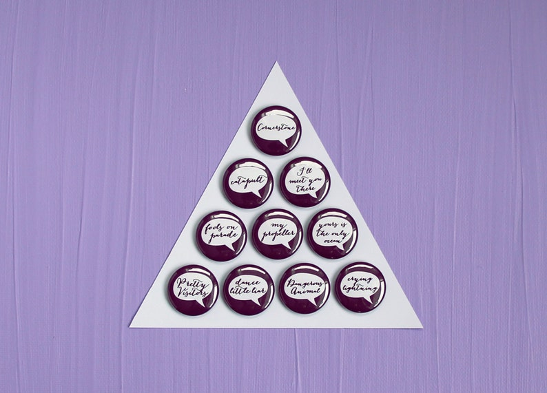 Arctic Monkeys Humbug Pin/Magnet pick one image 0