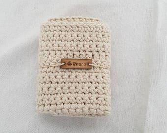 Handmade washcloth, crochet washcloth, washcloth, cotton blend, reusable, sustainable