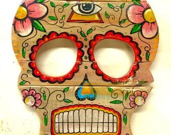Sugar Skull Dia De Los Muertos Day Of The Dead Calavera