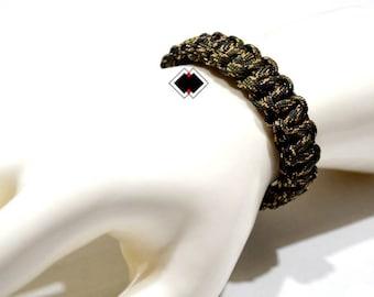 paracord survival bracelet veteran camo handmade in USA