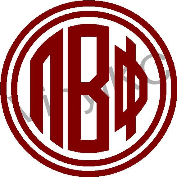 Pi Beta Phi Sticker Decal Greek Letter 5 Buy 2 Get 1 Etsy