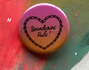 Boundaries Rule Badge