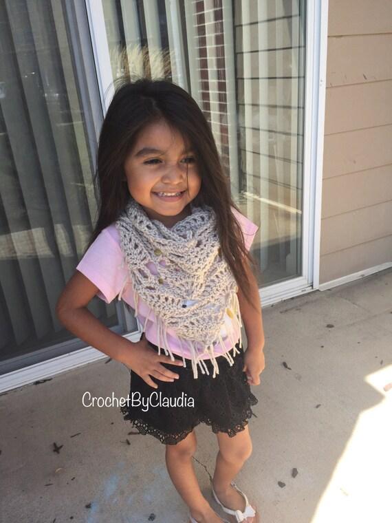 Dreieck Schal häkeln / Made to Bestellgrößen/Kleinkind bis zum | Etsy