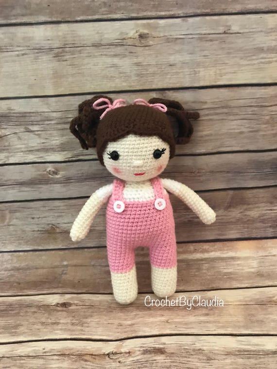 Crochet Molly Puppeamigurumi Puppebaby Puppe Häkeln Puppe Etsy