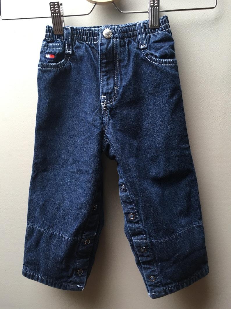 612M-Vintage 90/'s TOMMY HILFIGER Jeans