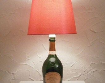 Laurent Pierrer Champagne Bottle Lamp,Light,Lighting.