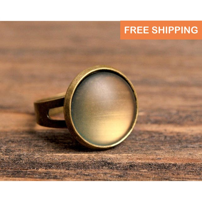 Rustic Ring Birthday Gift For Women Jewelry Her