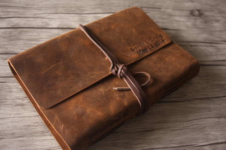 c2539821e414 Personalized Leather Journal Handmade Sketchbook Journal