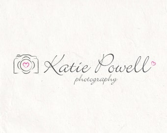 Photography Logo Watermark Camera Design Template