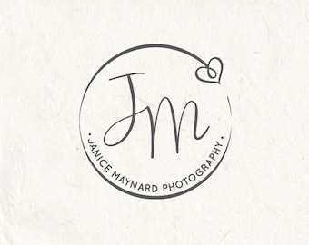 Photography logo - digital download - premade logo design - Photography Watermark - digital download psd file