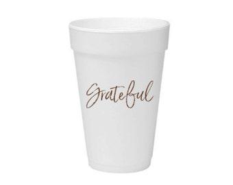 Grateful Party Cups. 16 oz Foam Cup.