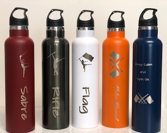 Insulated Color Guard Water Bottles