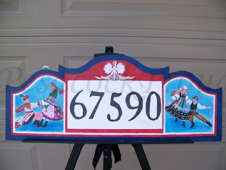 Custom Address Number Sign  Porch Sign Wall Art  Home image 0
