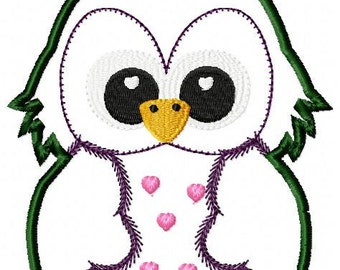 ith owl applique
