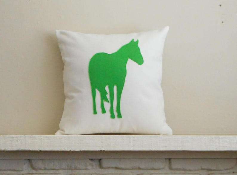 Gift for equestrians Custom Horse Pillow