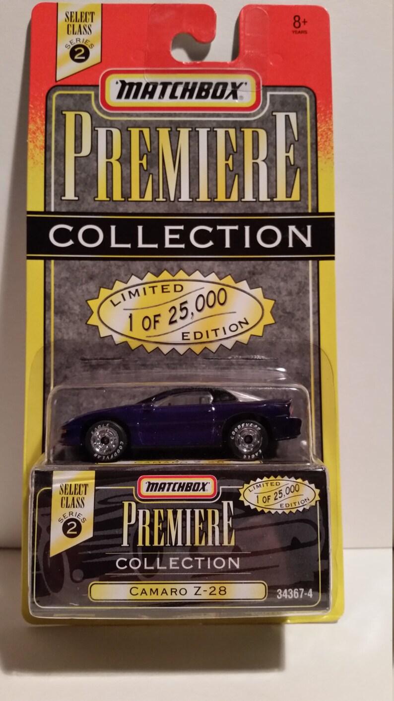 Matchbox Premiere Collection Camaro Z-28 NIB