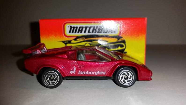 Vintage Matchbox Car Lamborghini Countach Etsy
