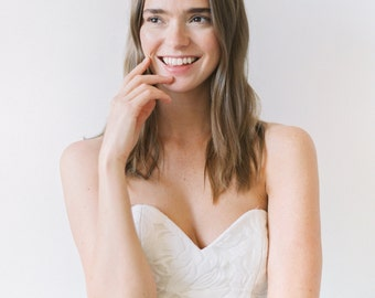 Georgia // A Timeless Dress With a 3D Floral Bodice and Crinolined Skirt