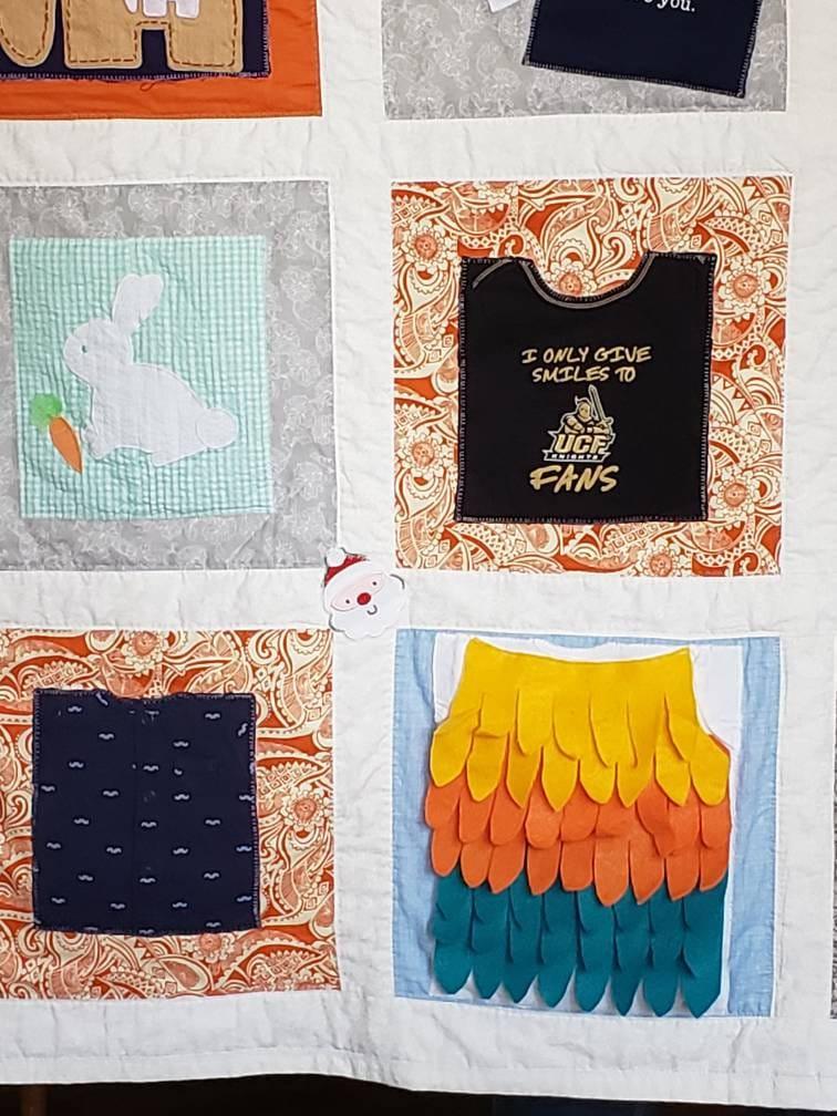 Mémoire Quilt de bébé (enfants / enfants) vêtements des êtres chers!