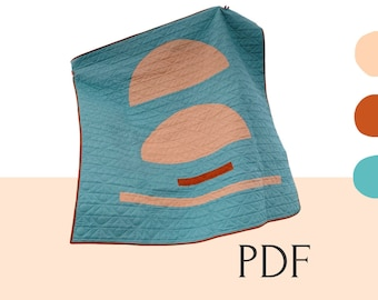 SUNRISE quilt pattern PDF