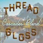 CASCADES BLEND  | Thread Gloss for hand sewing, embroidery, and needlepoint crafts | blue spruce, fraser fir, lemon, and cedar bark