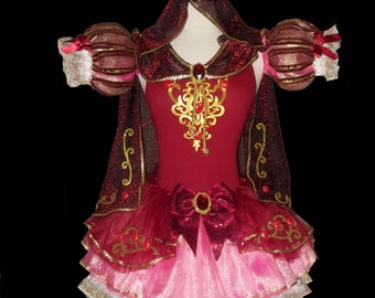 WINTER PRINCESS Costume . Little Girls to Adults Plus Size  . Running Costume . Short Length 11in by The Tutu Factory USA ™