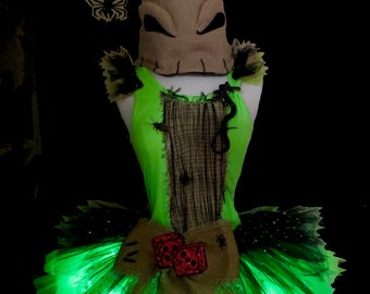 Green Boogie Tutu . Little Girls to Adult Plus Sizes . Black Lime Sparkly Skirt . Running Tutu . Short Length 11in by The Tutu Factory ™