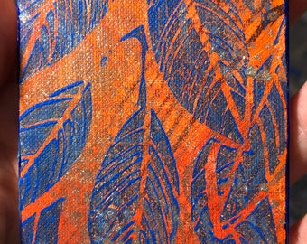 Shimmering Leaves ACEO Card