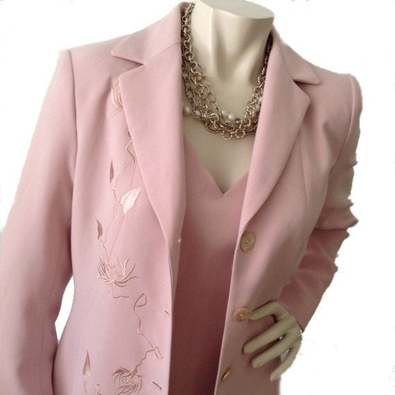 Vintage pencil dress and coat set. Vintage Spring-
