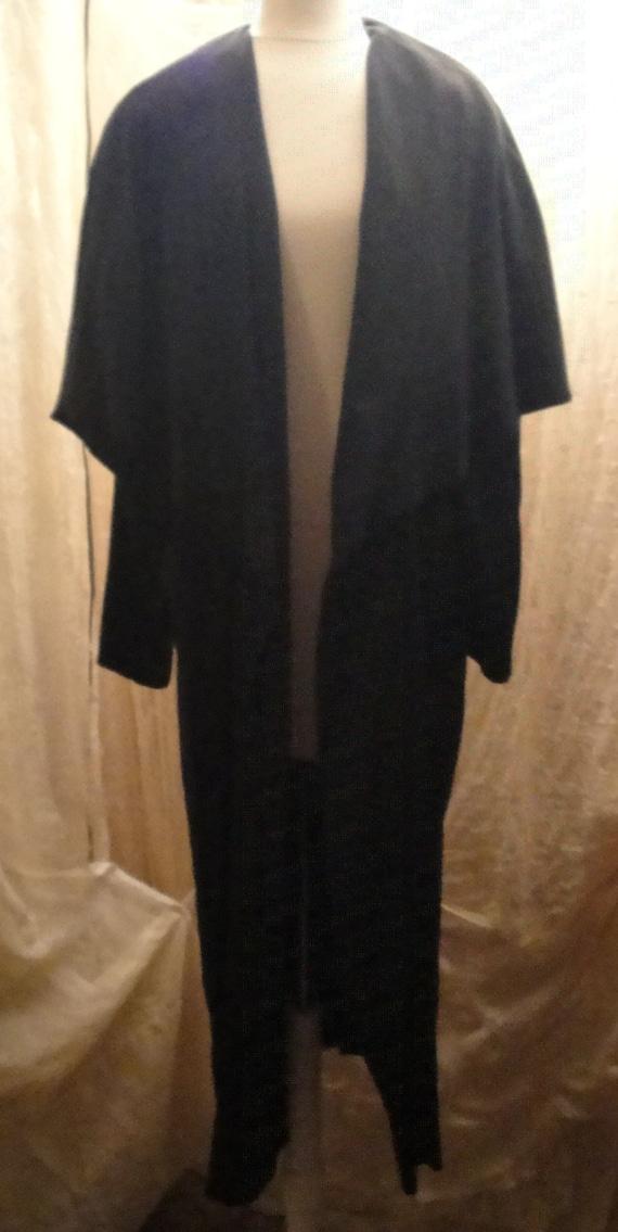 Black Opera Coat
