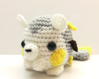 Crochet Togedemaru Inspired Chibi Pokemon