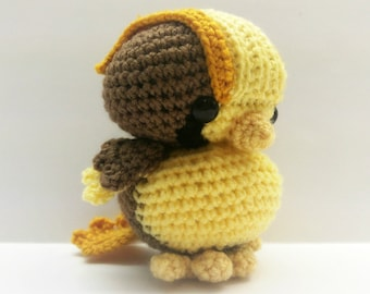 Crochet Pidgeot Inspired Chibi Pokemon