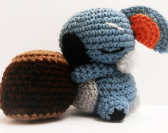 Crochet Komala Inspired Chibi Pokemon