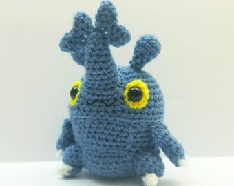 Crochet Heracross Inspired Chibi Pokemon