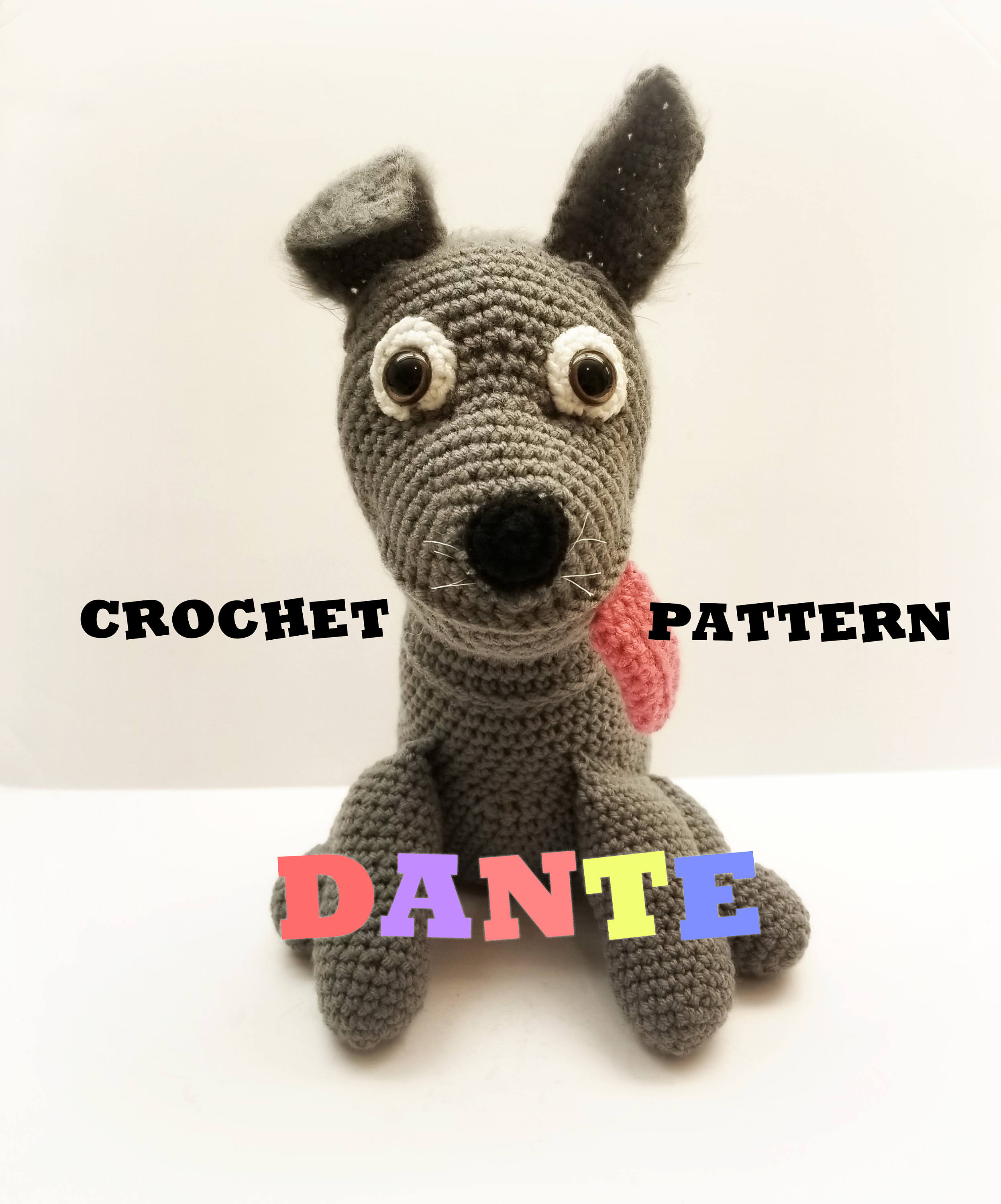 Crochet Dante Pattern Inspired / Fan Made From