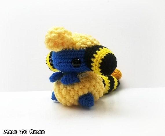 Pokemon Inspired: Mareep Amigurumi Crochet Plushie/Plush Handmade ... | 471x570